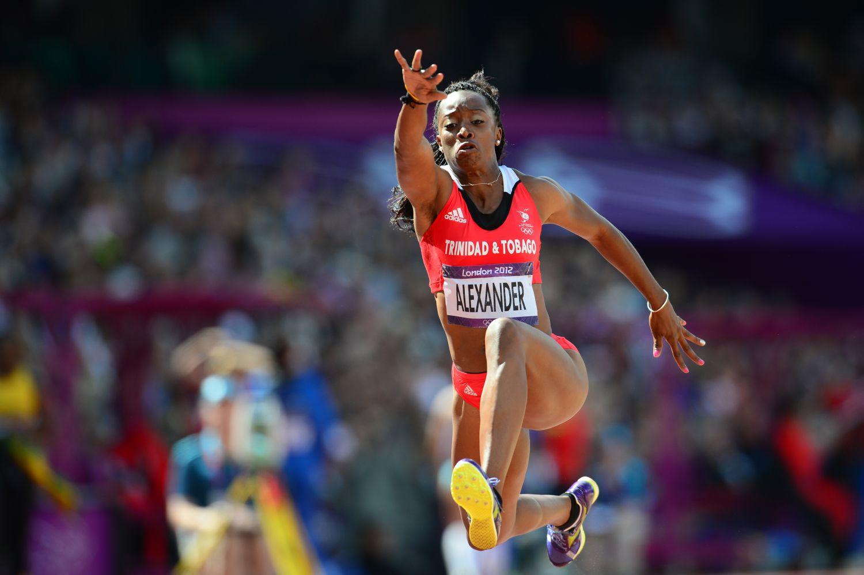Trinidad and Tobago's Ayanna Alexander c