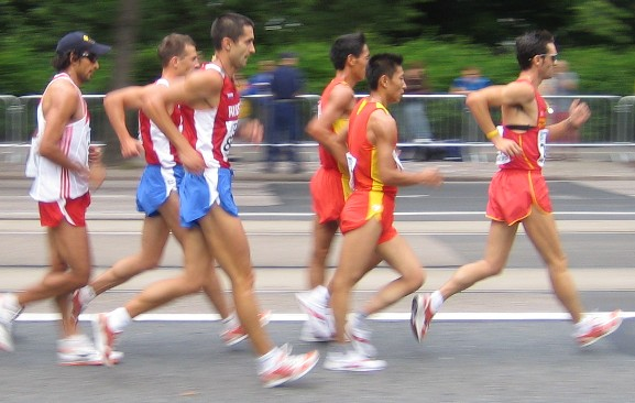 Race walking gif